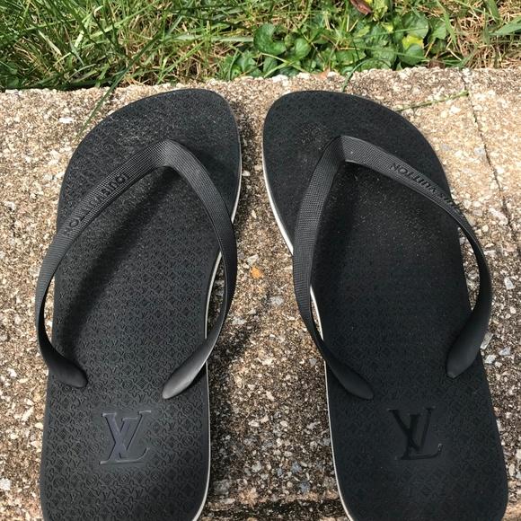 lv sandals mens